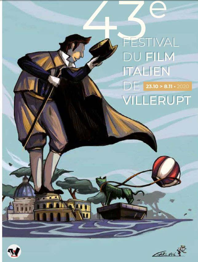 Festival du film italient de Villerupt (affiche)