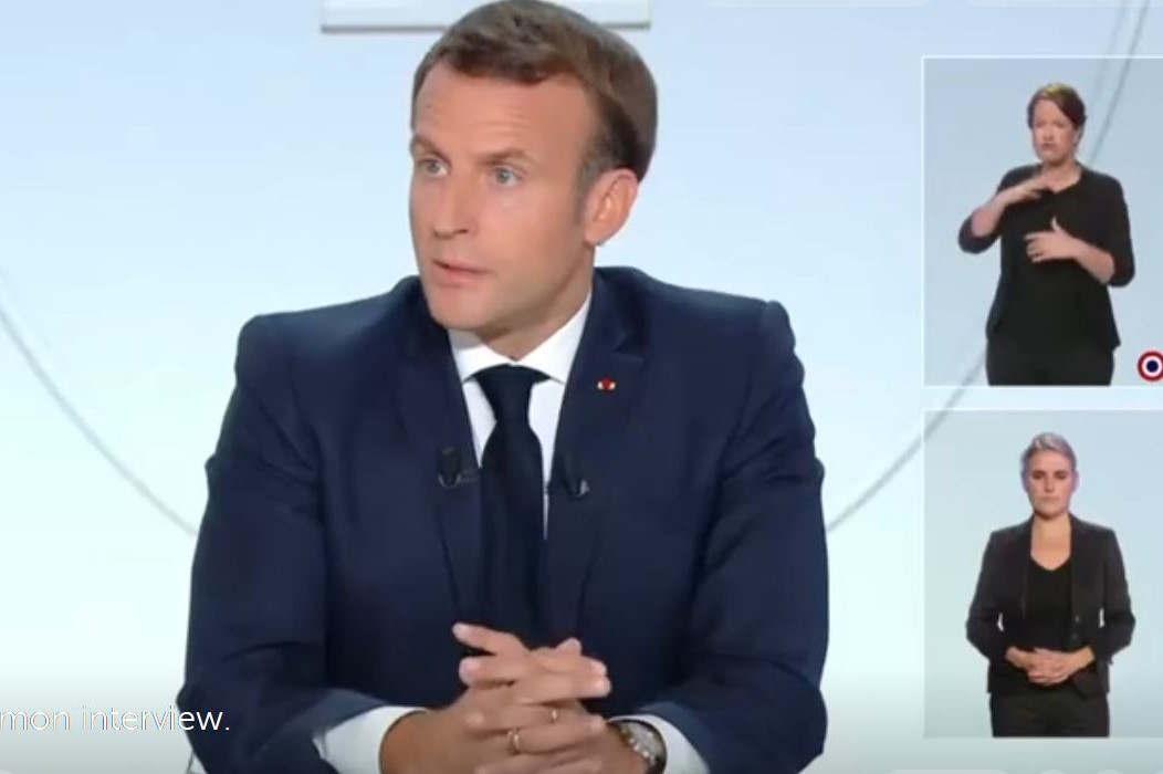 interview du Président de la République le 14 octobre 2020 (Elysée)