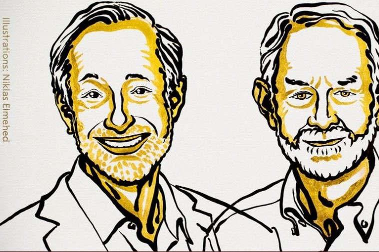Nobel d'économie à deux Américains