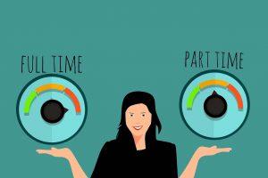 Activité à temps partiel (pixabay)