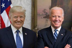 Portraits officiels du président Donald J. Trump et du vice-président Joe Biden