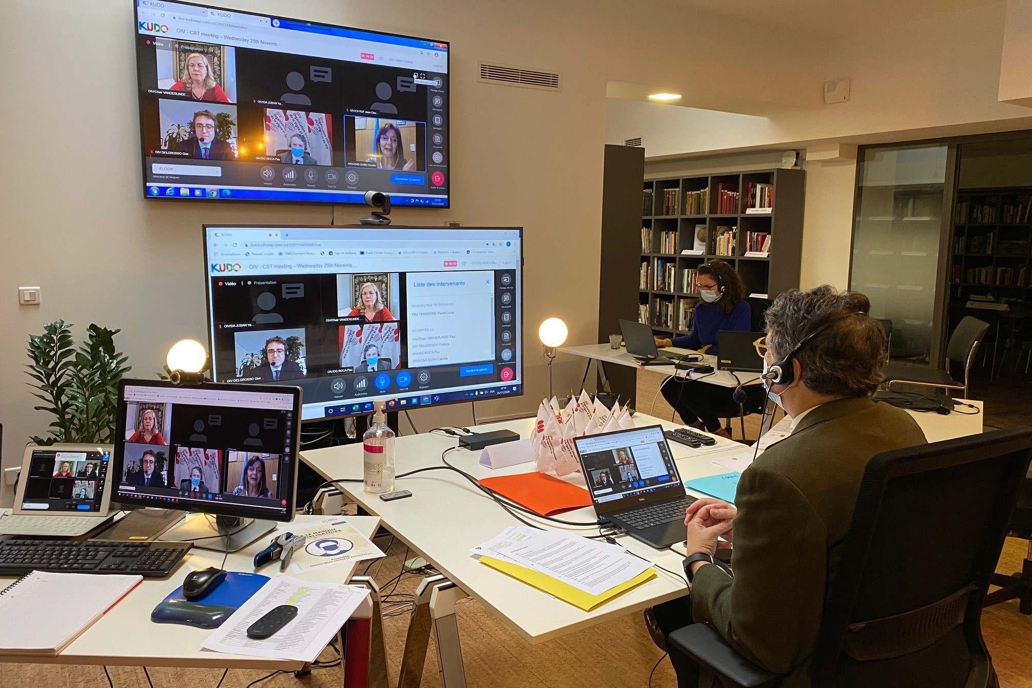 Assemblée générale virtuelle de l'OIV
