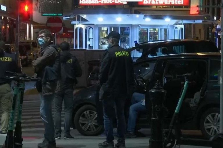 Attaque à Vienne, en Autriche (capture EuroNews)