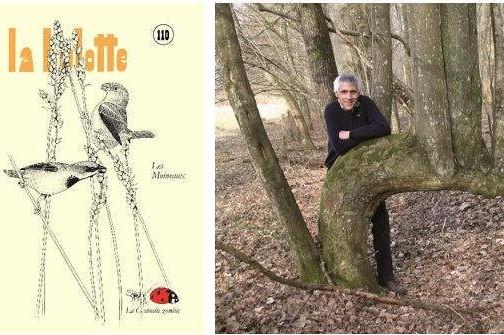 Couverture du n°110 et photographie de Pierre Déom © La Hulotte
