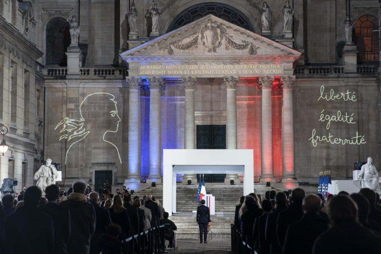 Cérémonie d'hommage national à Samuel Paty à la Sorbonne (Elysée)