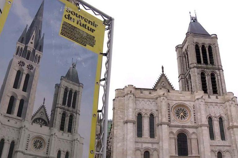 Flèche de la basilique de Saint-Denis