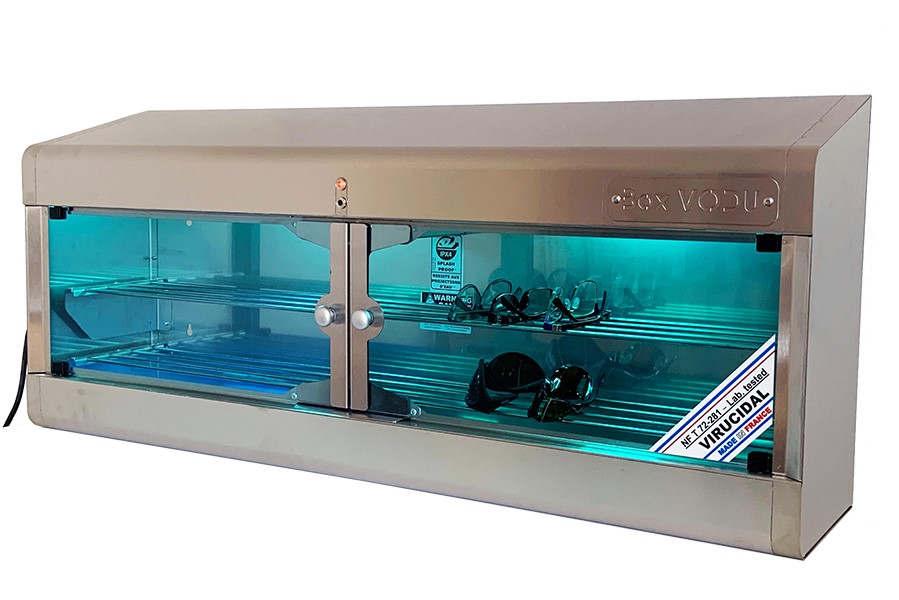 VODU BOX, stérilisateur virucide par UVC (Photo CFLOU)