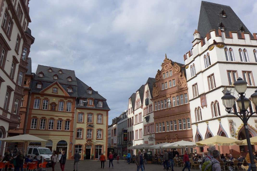 Centre de Trèves, Allemagne (Flickr)