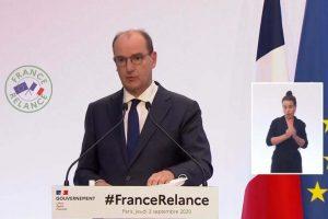 Plan de relance présenté par le Premier ministre Jean Castex (Capture Matignon)