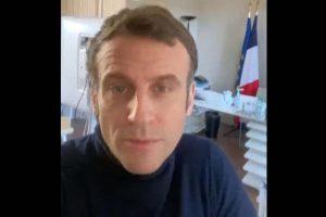 Message vidéo d'Emmanuel Macron