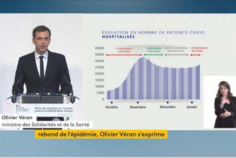 conférence de presse Olivier Véran (capture)