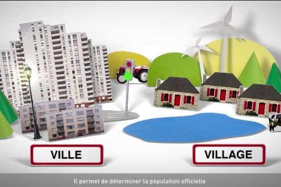 INSEE : Recensement 2020