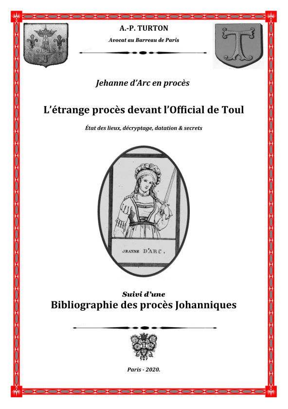 Jeanne d'arc (couverture)