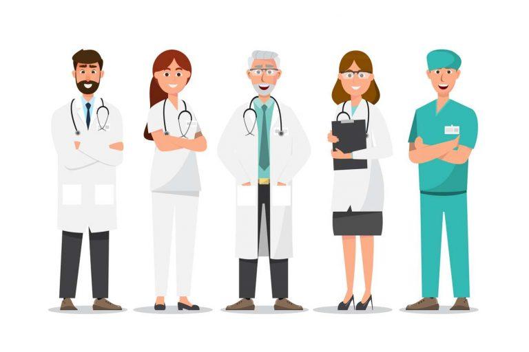 Médecins , soignant et personnel de santé