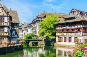 maisons typiques de Strasbourg