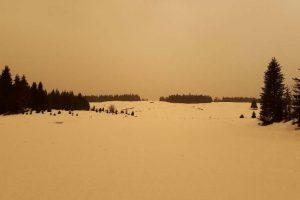 Photos prises le 6 février 2021 dans le massif du Jura © ACRO