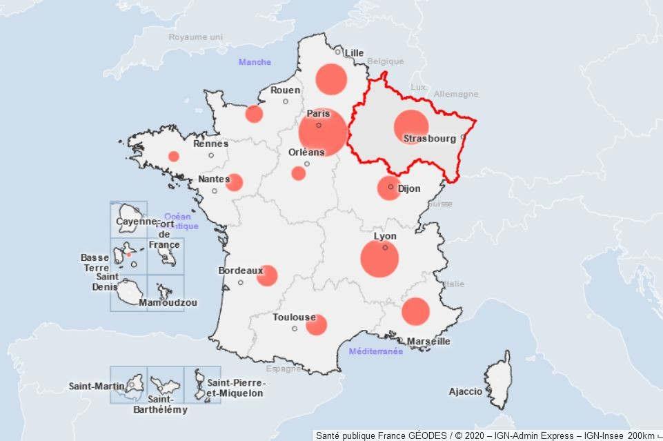 Covid : Contrôles renforcés dans les 20 départements sous surveillance