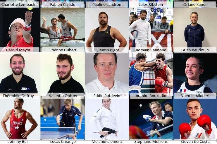 20 sportifs de haut-niveau ont été sélectionnés parmi plus de 600 sportifs soutenus par la Région. Ces athlètes sont tous licenciés dans un club du Grand Est et reconnus pour leurs performances.