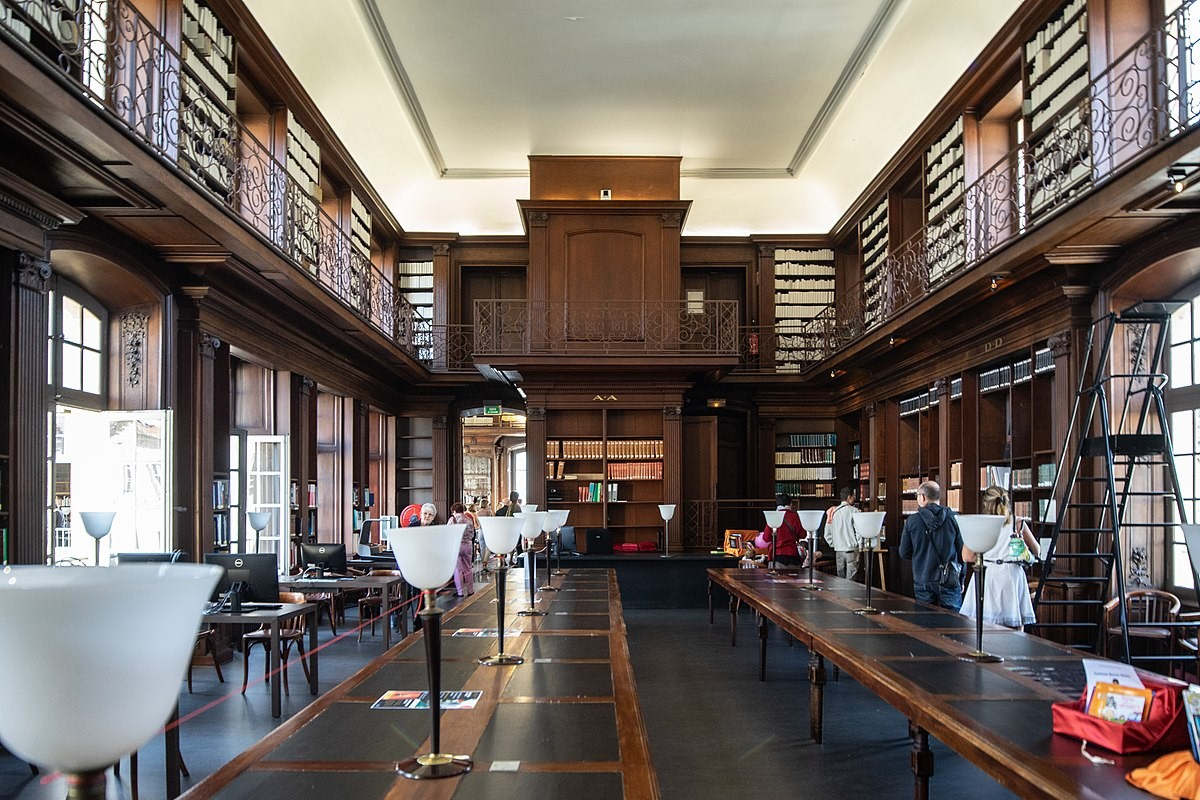 Bibliothèque municipale de Nancy (wikimedia commons)