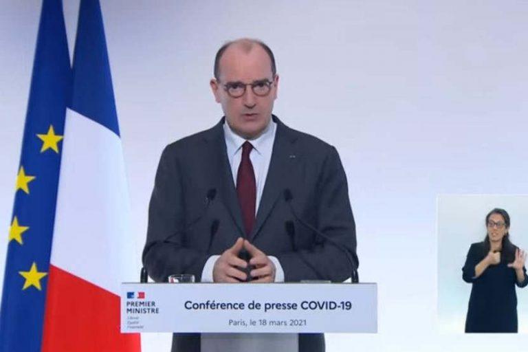 Conférence de presse de Jean Castex