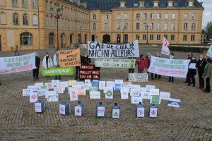 Gaz de couche : rassemblement à Metz