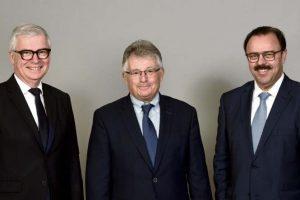 Dominique Garnier, Thierry Cahn et Dominique Wein (photo BPALC)
