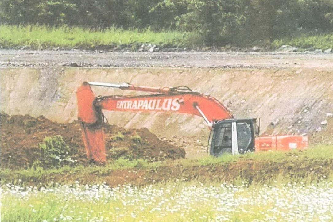 chantier du ball-trap de Thionville (dr)