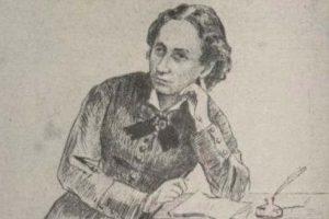 Louise Michel à son retour de Nouvelle-Calédonie (BnF)