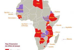 22 pays africains importent meiur monnaie d'Angleterre ou d'Allemagne
