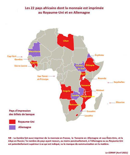 22 países africanos importam moeda melhor do que Inglaterra ou Alemanha