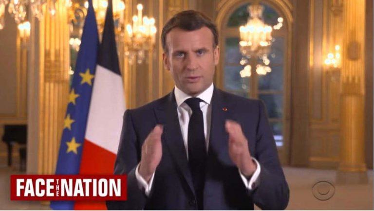 Interview d'Emmanuel Macron à la chaine américain CBS