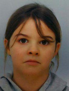 Mia Montemaggi, 8 ans, enelvée le 13 avril 2021 dans les Vosges (photo gendarmerie 88)