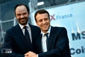 Macron-Philippe (capture C dans l'air)