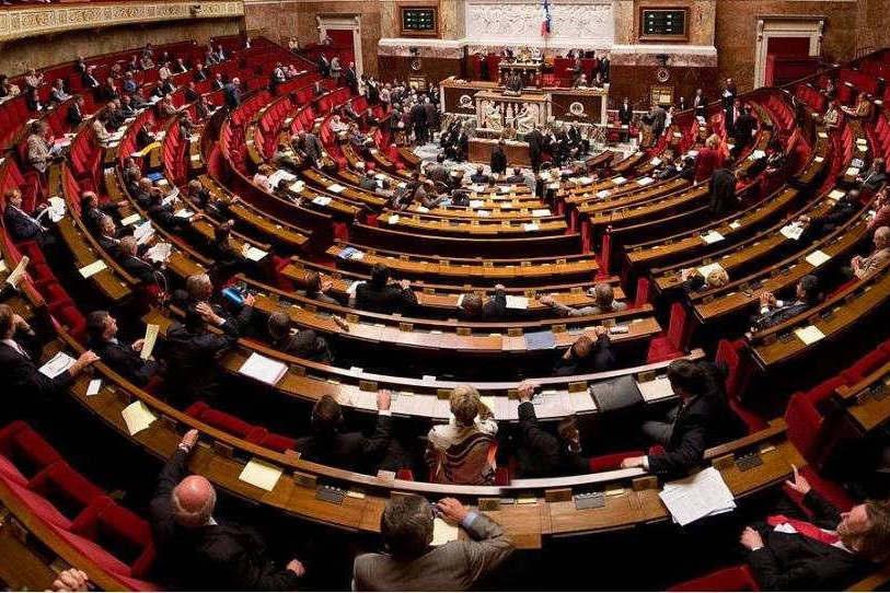 Hémicycle de l'assemblée nationale (DR)