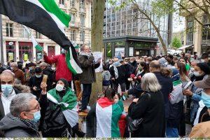 Rassemblement pro-palestinien à Nancy