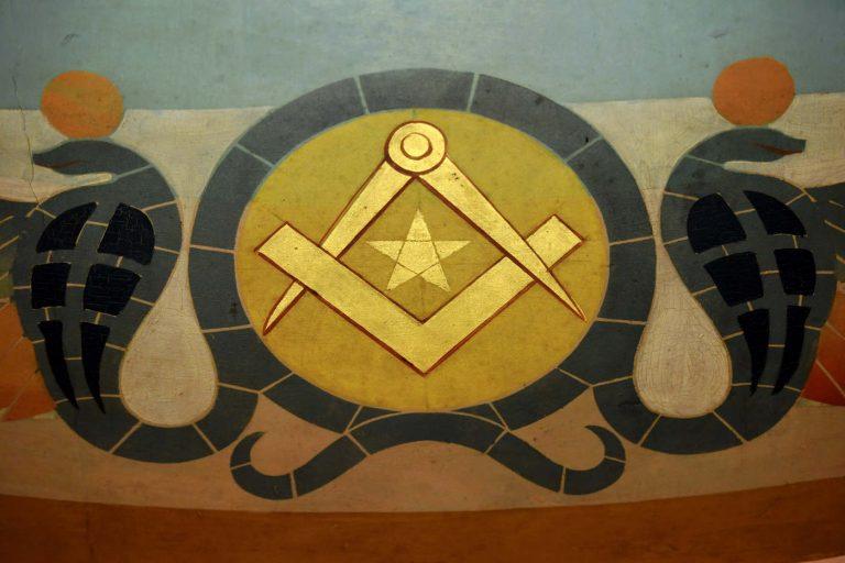 Symbole maçonnique (DR)