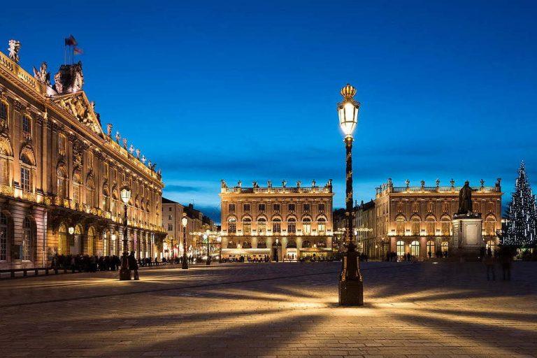 Place Stanislas, la nuit