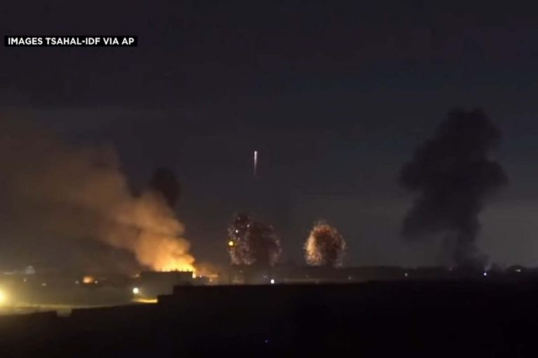 Bombardement de Gaza par Israël (capture euronews)