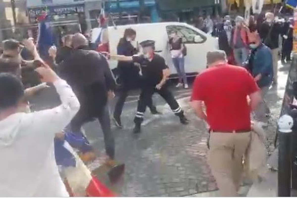 Catholiques agressés à Paris (Capture Twitter)