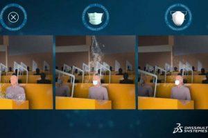 Protection des élus dans l'hémicycle de la Région à Strasbourg (capture YouTube)