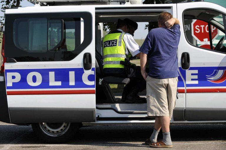 Contrôle de police (DR)