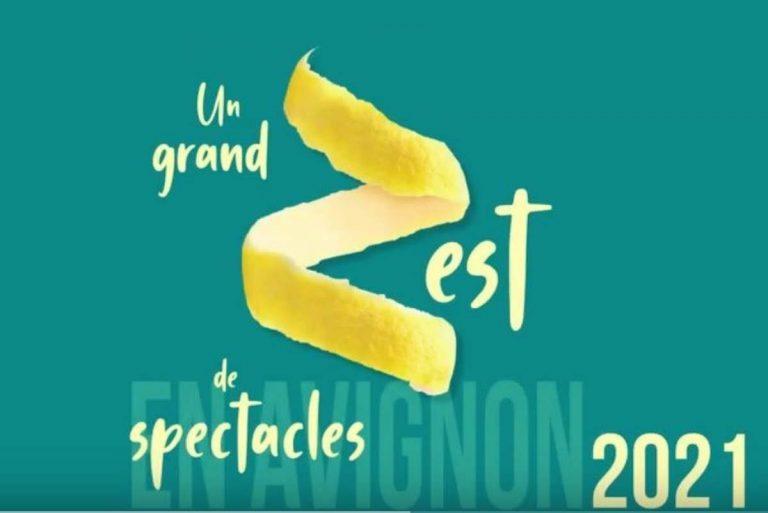 Festival d'Avignon 2021 (affiche)