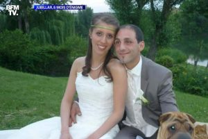 Le couple Jubillar (capture BFMTV)