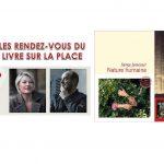 RV du Livre sur la PLace, Sophie Loubière et Serge Joncour (capture Twitter,Bibliothèque de Nancy)