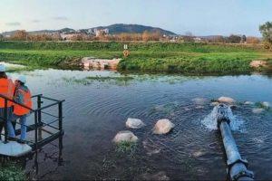 Système de recharge de l'aquifère côtier à Hyères (Var). Géraldine Picot-Colbeaux/BRGM