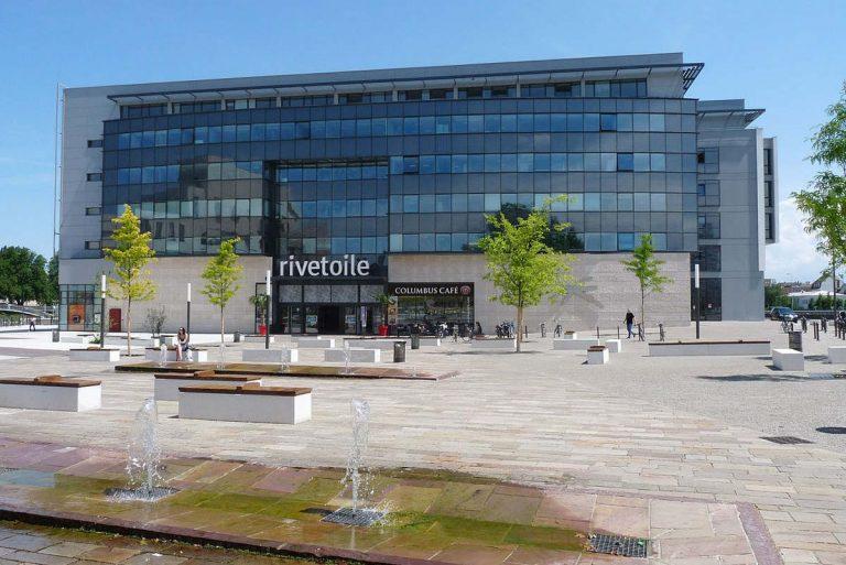 Le centre commercial Rivetoile à Strasbourg