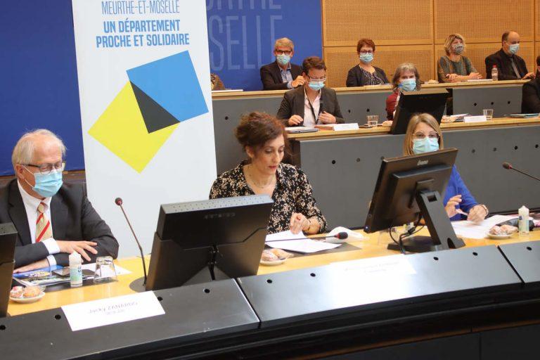 Chaynesse Khirouni, préidente du Conseil département 54 (DR)