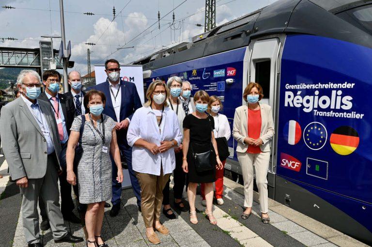 Regiolis : bientôt 7 lignes ferroviaires entre la France et l'Allemagne