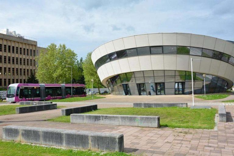 Campus de l'ïle du Saulcy à Metz (photo Factuel, Université de Lorraine)