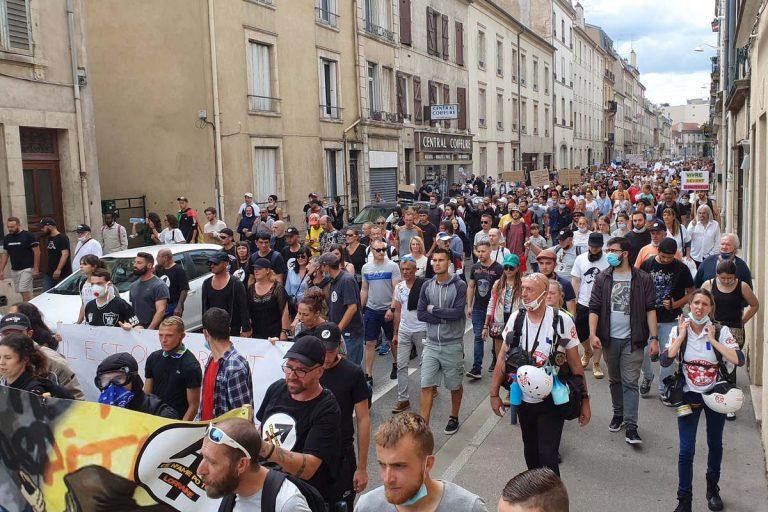 Manif à Nancy samedi 31 juillet 2021 (Le Boc Lorraine)
